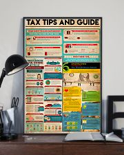 Accountant - Tax Tips And Guide 11x17 Poster lifestyle-poster-2