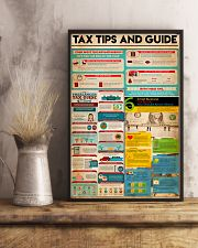 Accountant - Tax Tips And Guide 11x17 Poster lifestyle-poster-3