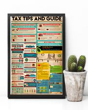 Accountant - Tax Tips And Guide 11x17 Poster lifestyle-poster-8