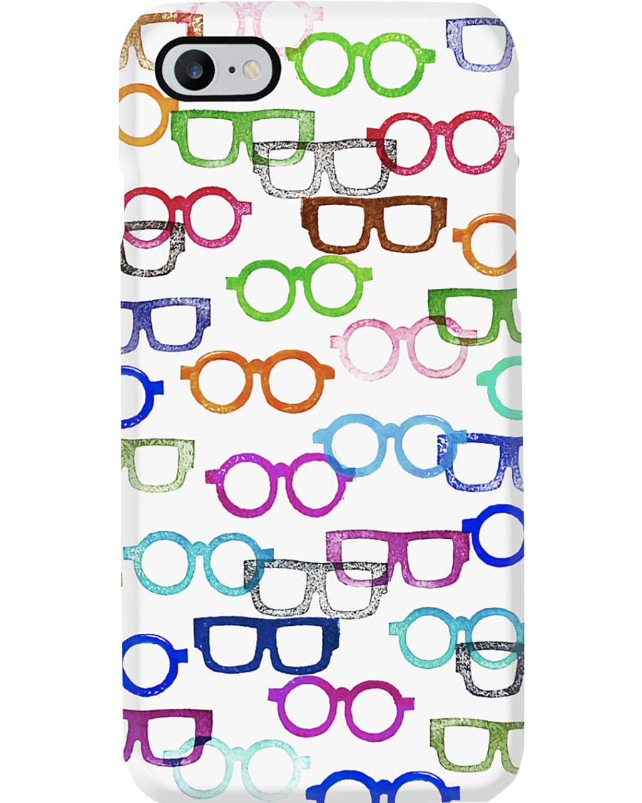 Optometrist Colorful Glasses Phone Case