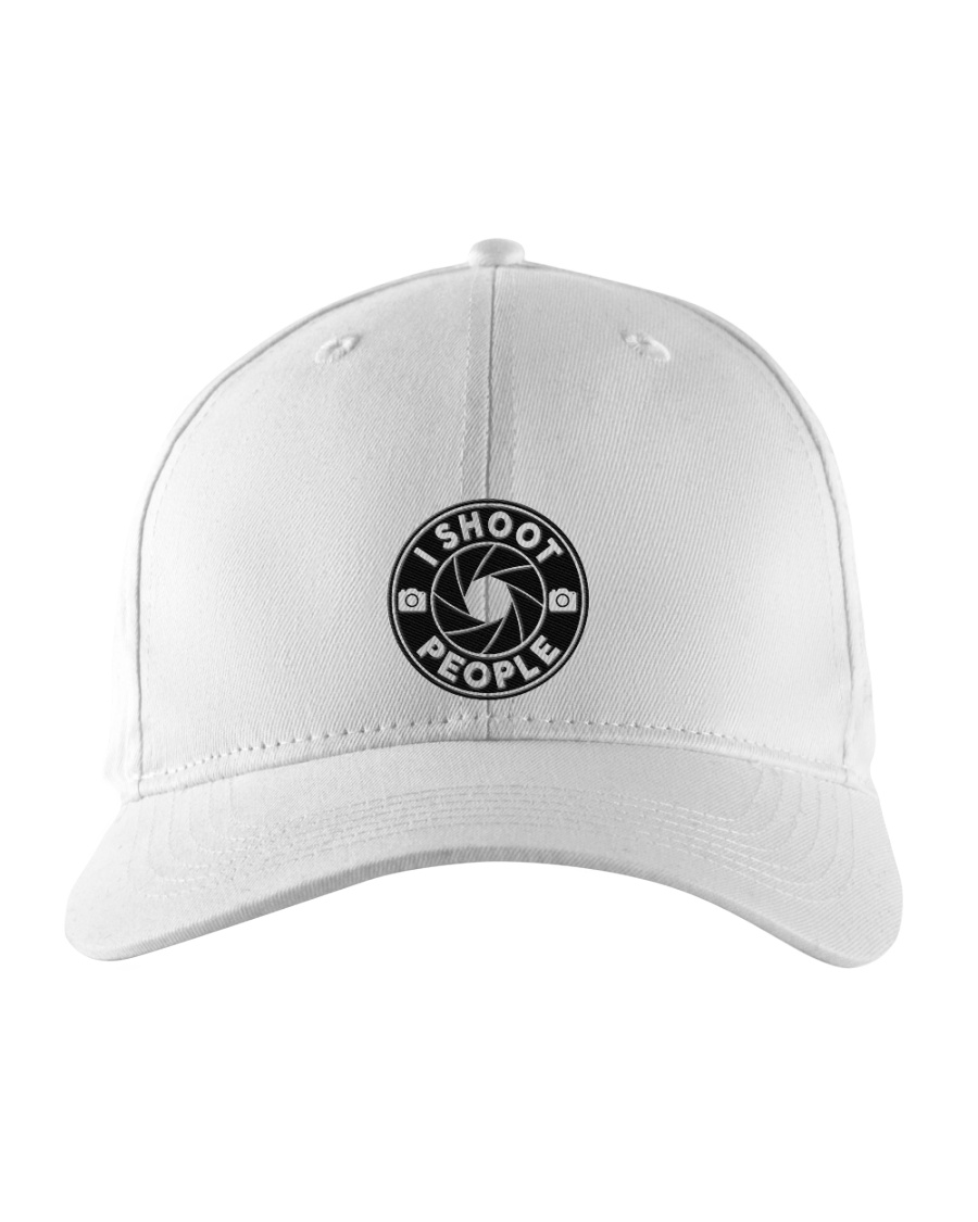 I Shoot People Circle Cam Photographer Embroidered Hat