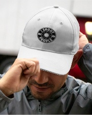 I Shoot People Circle Cam Photographer Embroidered Hat garment-embroidery-hat-lifestyle-01