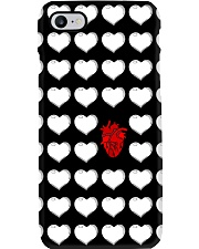 Red And White Heart Cardiologist Phone Case i-phone-8-case
