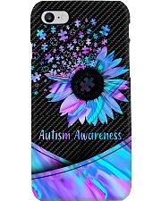 Autism Awareness Sunflower Pieces  Phone Case i-phone-7-case