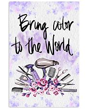 Bring Color To World Hairdresser 11x17 Poster front