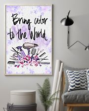 Bring Color To World Hairdresser 11x17 Poster lifestyle-poster-1