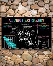 Speech Language Pathologist All About Articulation 17x11 Poster aos-poster-landscape-17x11-lifestyle-15