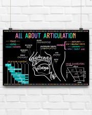 Speech Language Pathologist All About Articulation 17x11 Poster aos-poster-landscape-17x11-lifestyle-17