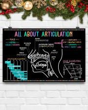 Speech Language Pathologist All About Articulation 17x11 Poster aos-poster-landscape-17x11-lifestyle-28