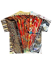 Accordion Gift For Accordionist All-over T-Shirt back