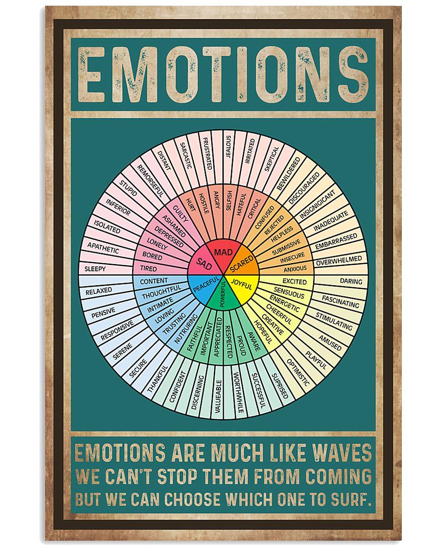Teacher Emotions 11x17 Poster