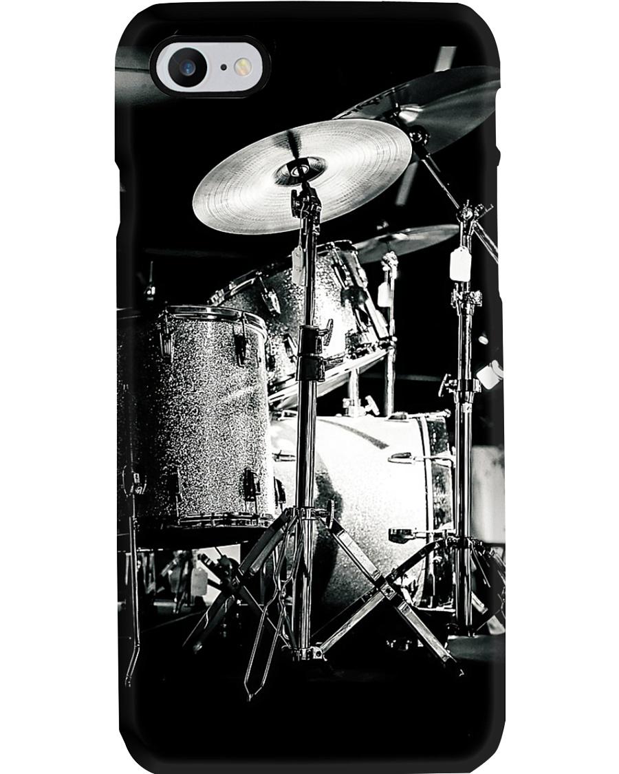 Drummer - Drum Set in Back Phone Case