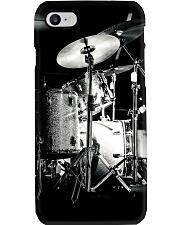 Drummer - Drum Set in Back Phone Case i-phone-7-case