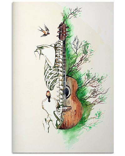 Physical Therapy Spine Guitar Art