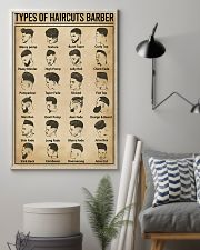 Types Of Haircuts Barber Hairdresser 11x17 Poster lifestyle-poster-1