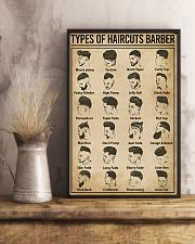 Types Of Haircuts Barber Hairdresser 11x17 Poster lifestyle-poster-3