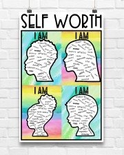 Social Worker Self Worth  11x17 Poster aos-poster-portrait-11x17-lifestyle-17