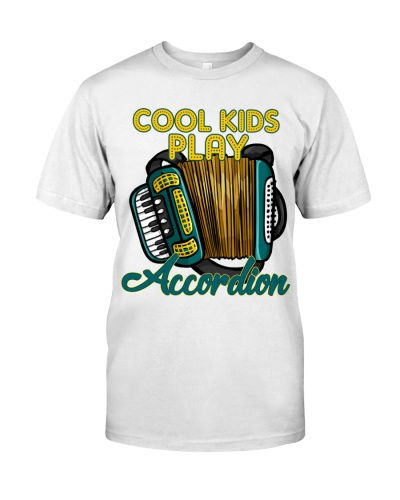 Cool kids play accordion