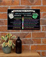 Teacher 10 Growth Mindset Statements 17x11 Poster poster-landscape-17x11-lifestyle-23