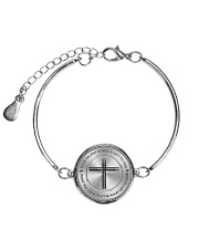 Drummer Your Talent Is God's Gift To You Metallic Circle Bracelet thumbnail