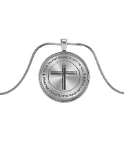 Drummer Your Talent Is God's Gift To You Metallic Circle Necklace front