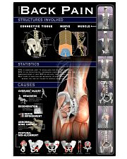 Massage Therapist Lower Back Pain 24x36 Poster front