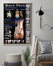 Massage Therapist Lower Back Pain 24x36 Poster lifestyle-poster-1