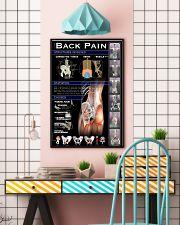 Massage Therapist Lower Back Pain 24x36 Poster lifestyle-poster-6