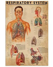 Respiratory Therapist Respiratory System 11x17 Poster front