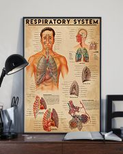 Respiratory Therapist Respiratory System 11x17 Poster lifestyle-poster-2