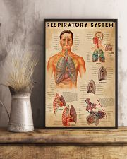 Respiratory Therapist Respiratory System 11x17 Poster lifestyle-poster-3