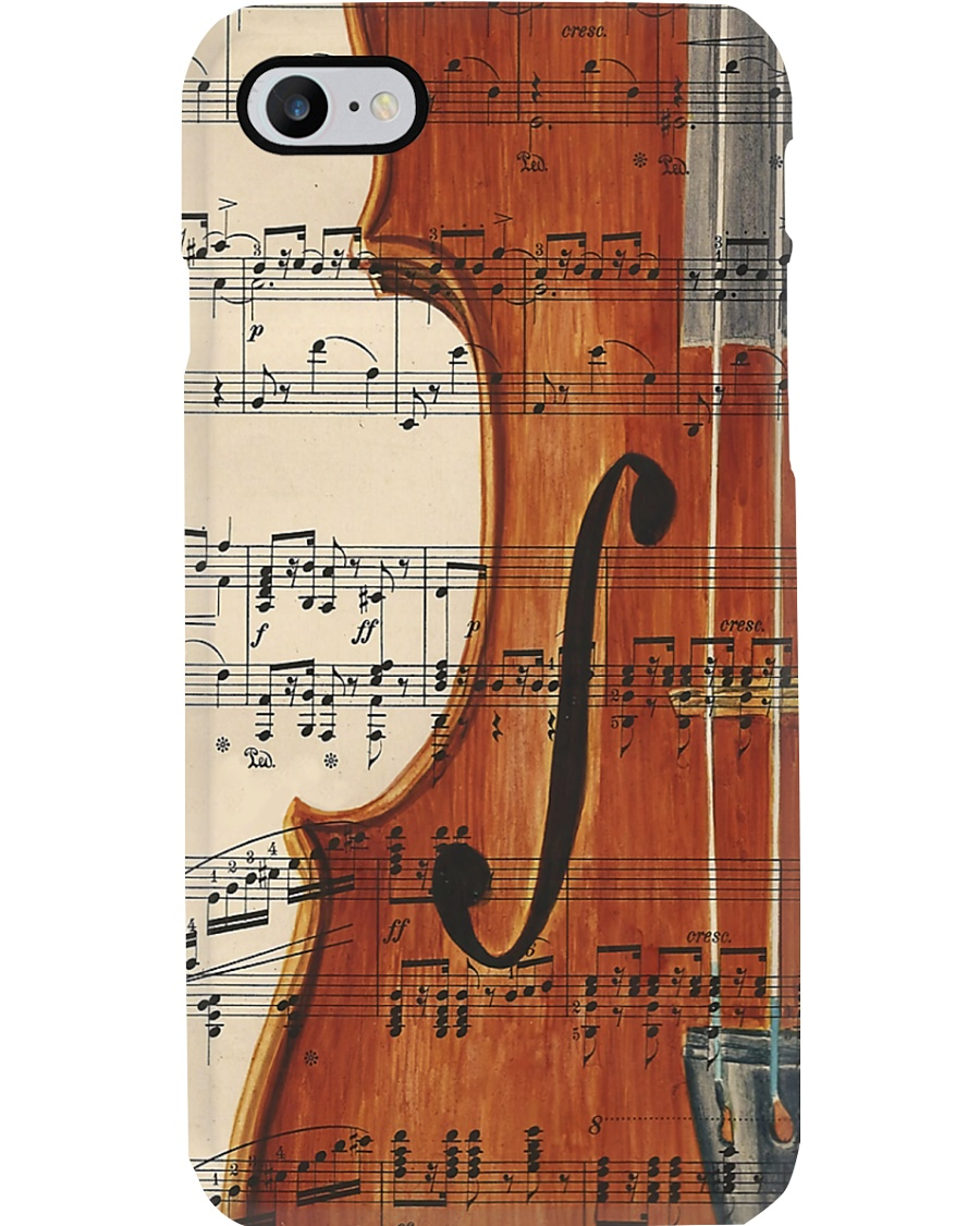 Violin and Music Sheet Phone Case