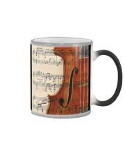 Violin and Music Sheet Color Changing Mug thumbnail