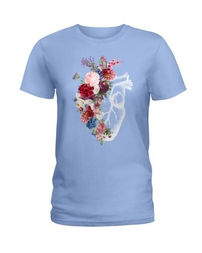 Paramedic Floral Heart
