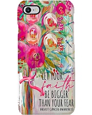 Let your faith be bigger than your fear Phone Case i-phone-7-case