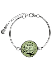 Bakers gonna bake Metallic Circle Bracelet thumbnail