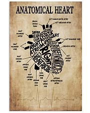 Anatomical Heart Vintage Cardiologist 11x17 Poster front
