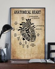 Anatomical Heart Vintage Cardiologist 11x17 Poster lifestyle-poster-2