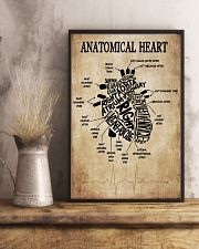Anatomical Heart Vintage Cardiologist 11x17 Poster lifestyle-poster-3