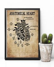 Anatomical Heart Vintage Cardiologist 11x17 Poster lifestyle-poster-8
