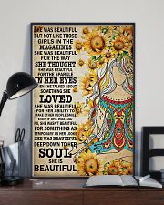 Yoga - She was beautiful 11x17 Poster lifestyle-poster-2