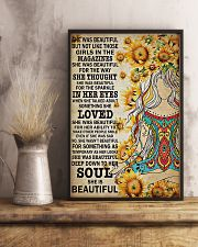 Yoga - She was beautiful 11x17 Poster lifestyle-poster-3