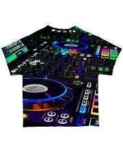 DJ Turntable All-over T-Shirt back