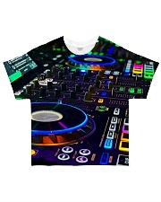 DJ Turntable All-over T-Shirt front