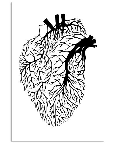 Cardiologist Art Simple Human Heart