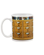 Librarian Catalog  Mug back