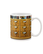 Librarian Catalog  Mug tile