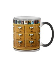 Librarian Catalog  Color Changing Mug thumbnail