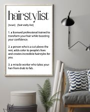 Hairstylist Definitions 11x17 Poster lifestyle-poster-1