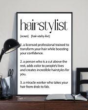 Hairstylist Definitions 11x17 Poster lifestyle-poster-2